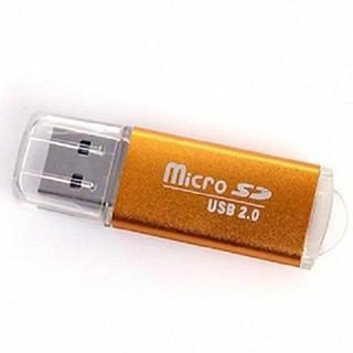 ĐẦU LỌC THẺ LOẠI VỎ NHÔM XỊN - Đầu Đọc Thẻ Nhớ MicroSD Vỏ Nhôm Có Đèn Báo