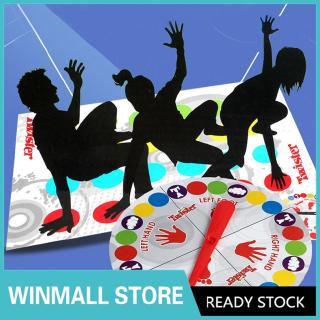 Fun Twister Educational Toy Game Pad for Kids Adult Sports Moves