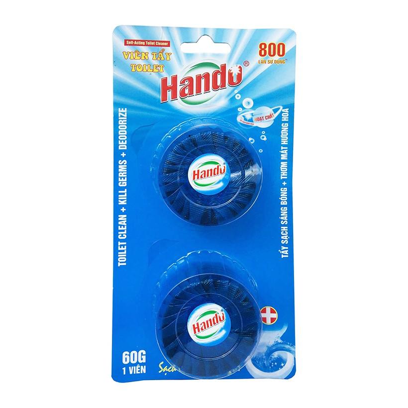 Vỉ 2 Viên tẩy và làm thơm toilet Hando