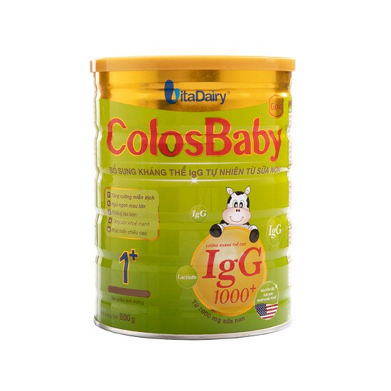 Sữa bột COLOSBABY GOLD 1+ 400G IGG1000 DATE 04/2021