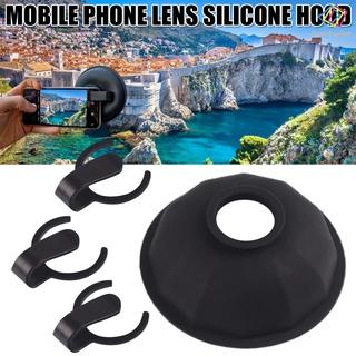 [FCD] Lens Hood Lens Anti Reflection Lens Hood Mobile Phone Lens Attachment Durable