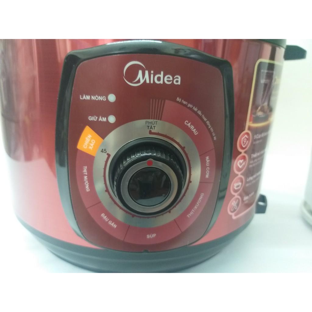 Nồi áp suất điện Midea MY-CH501A 5 lít - Chính hãng, Bảo hành toàn quốc 12 tháng