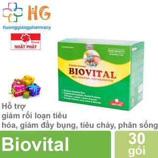 Cốm vi sinh Biovital - Giúp trẻ tiêu tốt. Giảm rối loạn tiêu hóa, đầy bụng, nôn chớ, tiêu chảy, phân sống (Hộp 30 gói) thumbnail