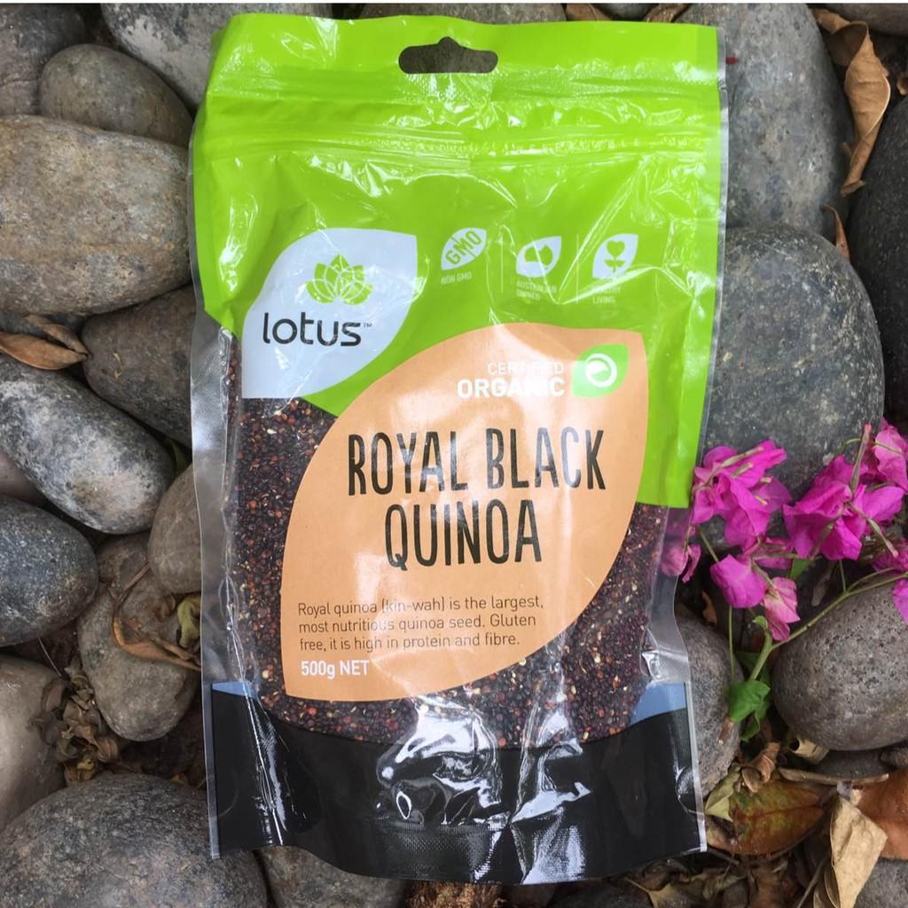 ORGANIC - Quinoa Diêm mạch đen hữu cơ Lotus 500g (A)