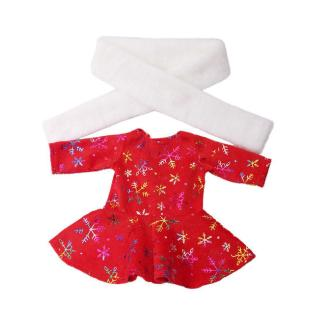 Fashion Christmas 18 inch Girl Doll Clothes With A Scarf