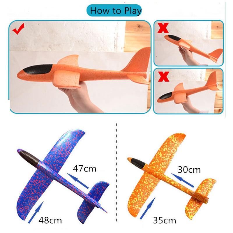 Đồ chơi mô hình máy bay phóng tay cực kỳ thú vị dành cho trẻ em