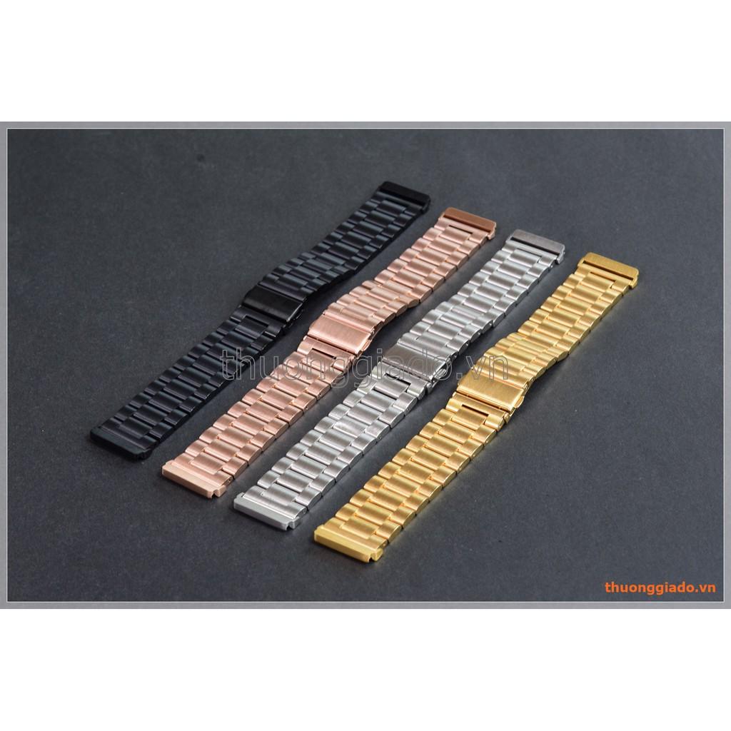 Dây đồng hồ Fitbit Versa (thép không gỉ, kiểu dây đồng hồ truyền thống) - 3416423 , 1247477615 , 322_1247477615 , 250000 , Day-dong-ho-Fitbit-Versa-thep-khong-gi-kieu-day-dong-ho-truyen-thong-322_1247477615 , shopee.vn , Dây đồng hồ Fitbit Versa (thép không gỉ, kiểu dây đồng hồ truyền thống)