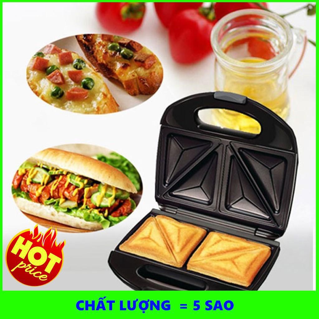 Combo 2 Máy Nướng Bánh Sandwich Tiện Dụng  - SIÊU CHẤT LƯỢNG