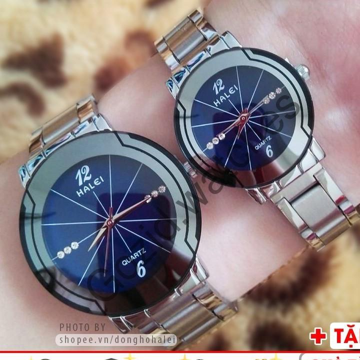 Đồng hồ cặp đôi Halei 668 chống nước chính hãng thời trang dẫn đầu xu hướng thời trang cặp đôi -Gozid.watches