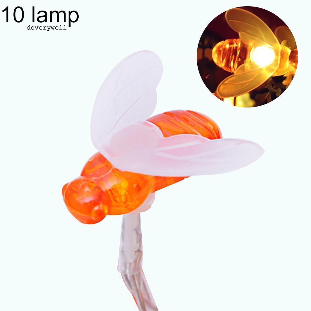 Dây đèn LED 10/20 bóng chống nước hình chú ong chiều dài 1.2/2.5m dùng để trang trí - 14844256 , 2402948558 , 322_2402948558 , 100000 , Day-den-LED-10-20-bong-chong-nuoc-hinh-chu-ong-chieu-dai-1.2-2.5m-dung-de-trang-tri-322_2402948558 , shopee.vn , Dây đèn LED 10/20 bóng chống nước hình chú ong chiều dài 1.2/2.5m dùng để trang trí