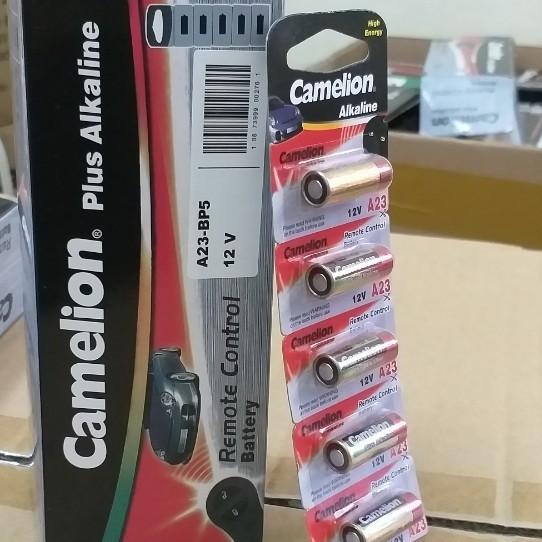[CHÍNH HÃNG] Pin A23, A27 Alkaline Camelion 12V , Pin cửa cuốn, Pin điều khiển,  Pin 12V ( 5 viên/ vỉ).