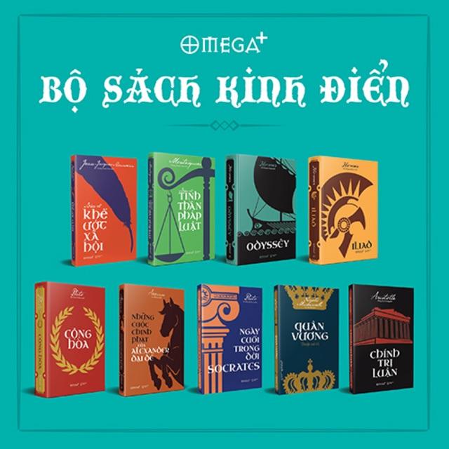 Combo Sách - Bộ Sách Kinh Điển (Combo 9 Quyển)