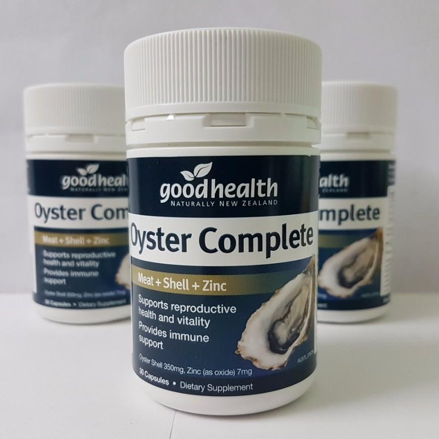 Viên uống tinh chất hàu GoodHealth Oyster Complete 30 viên - 2488651 , 569096093 , 322_569096093 , 230000 , Vien-uong-tinh-chat-hau-GoodHealth-Oyster-Complete-30-vien-322_569096093 , shopee.vn , Viên uống tinh chất hàu GoodHealth Oyster Complete 30 viên