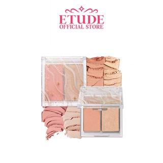 Bảng Phấn Trang Điểm Mặt ETUDE Màu Nhũ Như Tuyết 8g thumbnail