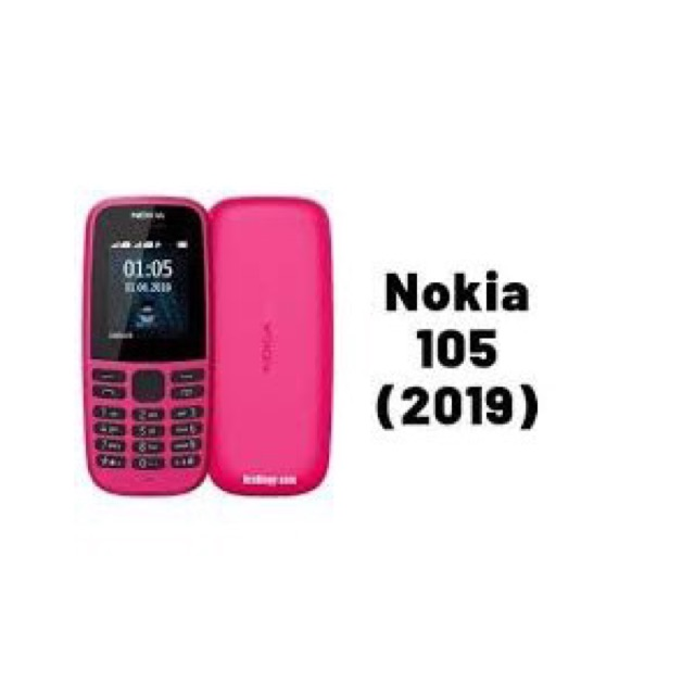 Điện thoại nokia 105 2 sim 2019 (hàng chính hãng)