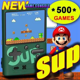 Gameboy máy chơi game, máy chơi game sup cầm tay 400 500 trò chơi cổ điển thumbnail