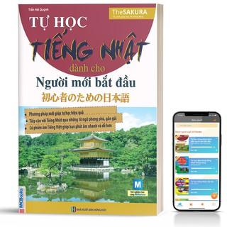 Sách - Tự Học Tiếng Nhật Dành Cho Người Mới Bắt Đầu - Học Kèm App Online