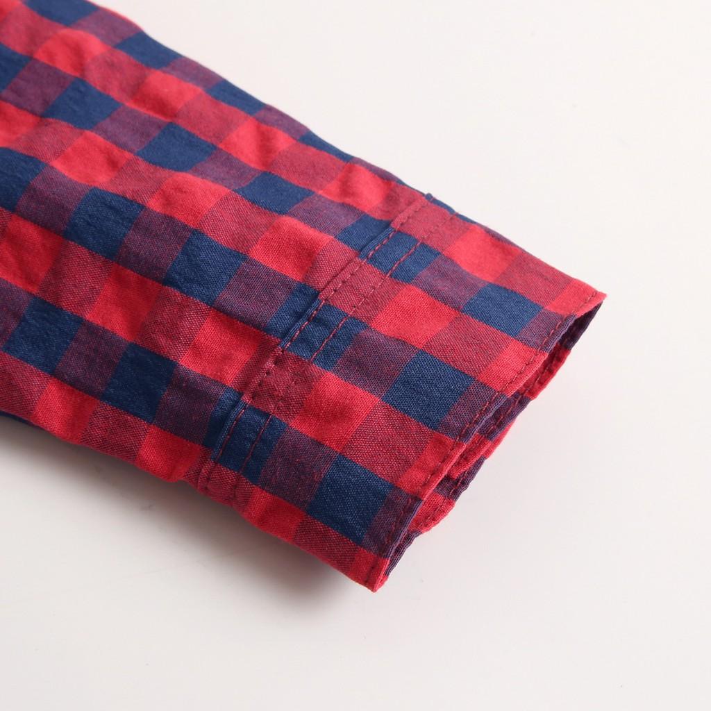 Bộ Đồ Liền Thân Sanlutoz Từ Cotton Tay Dài Thời Trang Mùa Thu Dành Cho Bé Trai