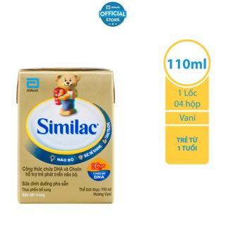 Lốc 4 Hộp Sữa nước Similac Gold Label 110ml hộp