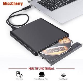 [MissCherry] External Drive Usb 2.0 Optical Drive Player Cd / Dvd Rw