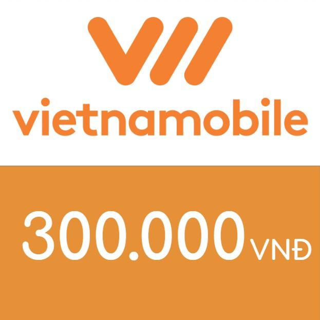Nạp điện thoại Vietnamobile 300K