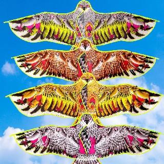 [HOT] Diều thả hình chim diều hâu đại bàng to rộng dày nhiều màu giá rẻ phù hợp mọi lứa tuổi thumbnail