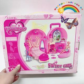 Mua Đồ Chơi Tủ đồ công chúa Sweetgirl KC1678 [THÔNG MINH – SÁNG TẠO]