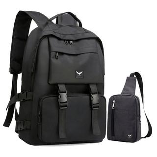 Combo balo nam thời trang LAZA BL468 và túi đeo chéo TX361