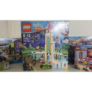 Bộ Lắp Ráp Trường Học Siêu Nữ Anh Hùng LEGO SUPER HERO GIRLS 41232 (712 chi tiết)