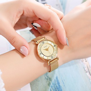 Đồng hồ nữ JULIUS JA728 dây thép   Julius Official