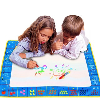 Children Kids Drawing Water Pen Painting Mat Board Boy Girl Toy