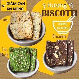 250g Bánh Biscotti ăn kiêng/giảm cân/keto