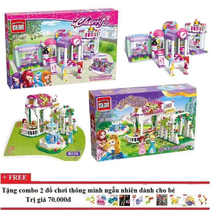 Lego xếp hình combo 02 bộ Enlighten 2006+2602 cho bé gái - 3424398 , 839888016 , 322_839888016 , 675000 , Lego-xep-hinh-combo-02-bo-Enlighten-20062602-cho-be-gai-322_839888016 , shopee.vn , Lego xếp hình combo 02 bộ Enlighten 2006+2602 cho bé gái