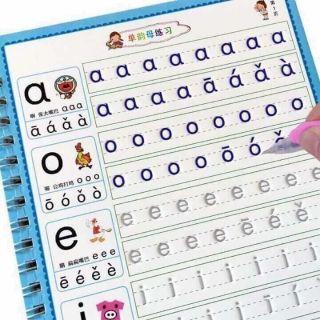 Set 3 bộ luyện chữ số, chữ cái và vẽ tranh