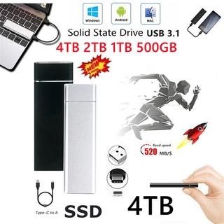 USB Mini 4TB SSD Tốc Độ Cao Lưu Trữ Vô Tận thumbnail