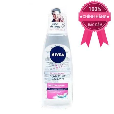 Nước Tẩy Trang Nivea Extra Bright Make Up Clear Cleansing Water -Hồng - 3032129 , 420263253 , 322_420263253 , 45000 , Nuoc-Tay-Trang-Nivea-Extra-Bright-Make-Up-Clear-Cleansing-Water-Hong-322_420263253 , shopee.vn , Nước Tẩy Trang Nivea Extra Bright Make Up Clear Cleansing Water -Hồng
