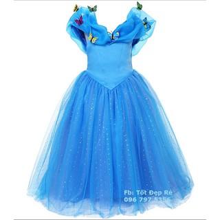 Váy công chúa Lọ Lem Cinderella đính cánh bướm