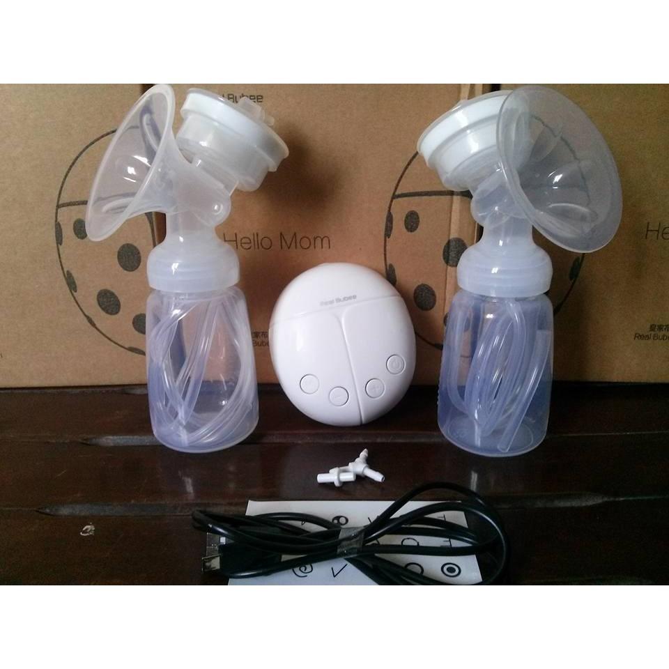 Máy hút sữa điện đôi Real Bubee Đài Loan - 3236295 , 346285815 , 322_346285815 , 699000 , May-hut-sua-dien-doi-Real-Bubee-Dai-Loan-322_346285815 , shopee.vn , Máy hút sữa điện đôi Real Bubee Đài Loan