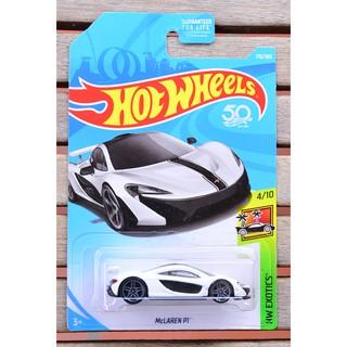 Xe mô hình tỉ lệ 1:64 Hot Wheels McLaren P1 170/365 ( màu trắng )