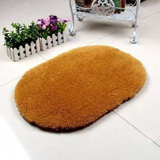 Yêu ThíchThảm nhà tắm bằng chất liệu Microfiber chống trượt hình Oval