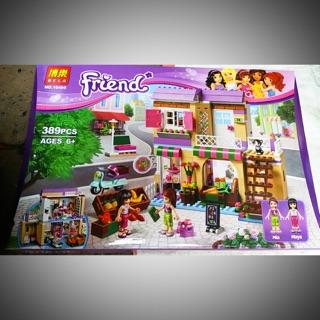 Bộ lego friends 10495-389 chi tiết Siêu thị thực phẩm