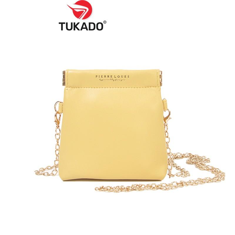 Túi Đeo Chéo Nữ Mini 𝐅𝐎𝐑𝐄𝐕𝐄𝐑 𝐘𝐎𝐔𝐍𝐆 Xinh Xắn Da Cao Cấp Cực Đẹp FY73 - Tukado