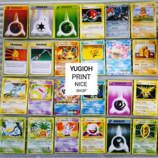 [BÀI IN] Bài Pokemon – Bộ 40 lá bài – Combo 40 lá bài Pokemon Random