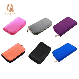 Pink 22-Slot TF Card Case, Used to Store SD, XD and MMC Card Cases for s and Cameras