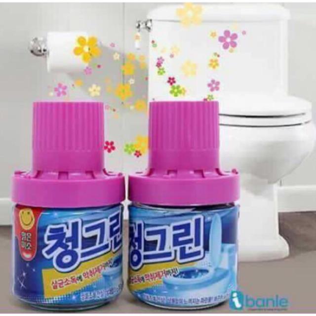 Combo si chai thả bồn cầu Hàn Quốc