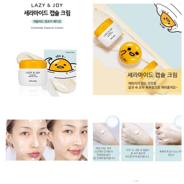 Kem dưỡng Lazy & Joy Ceramide Capsule Cream