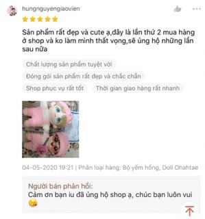 Doll Ohahtae fansite Con Bố Taehyung Tặng Kèm Quà 4