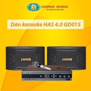 Bộ dàn karaoke gia đình HAS 4.0 GD03S thumbnail