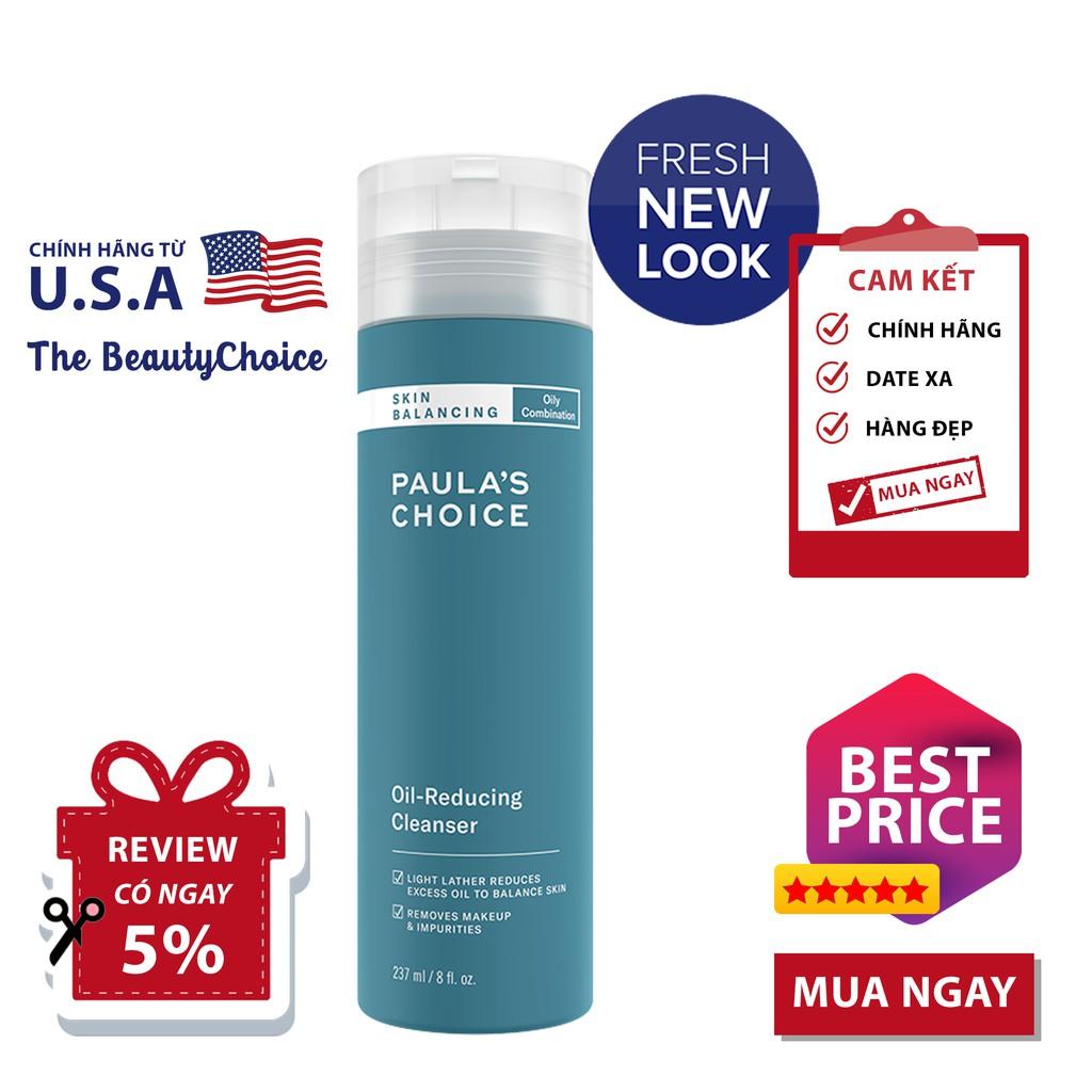 Sữa Rửa Mặt Paula's Choice Skin Balancing Oil-Reducing Cleanser (237mL)