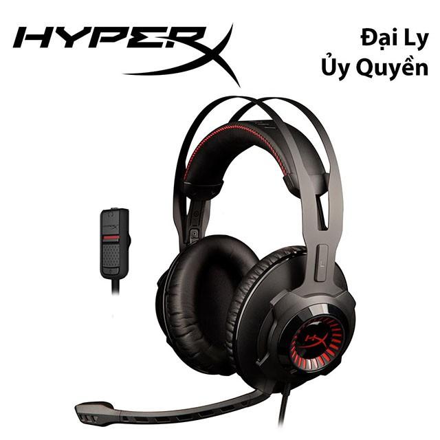 Tai nghe HyperX Cloud Resolver for PC, PS4, Xbox One, Wifi, Mobile (HX-HSCR-BK/AS) - HÃNG PHÂN PHỐI